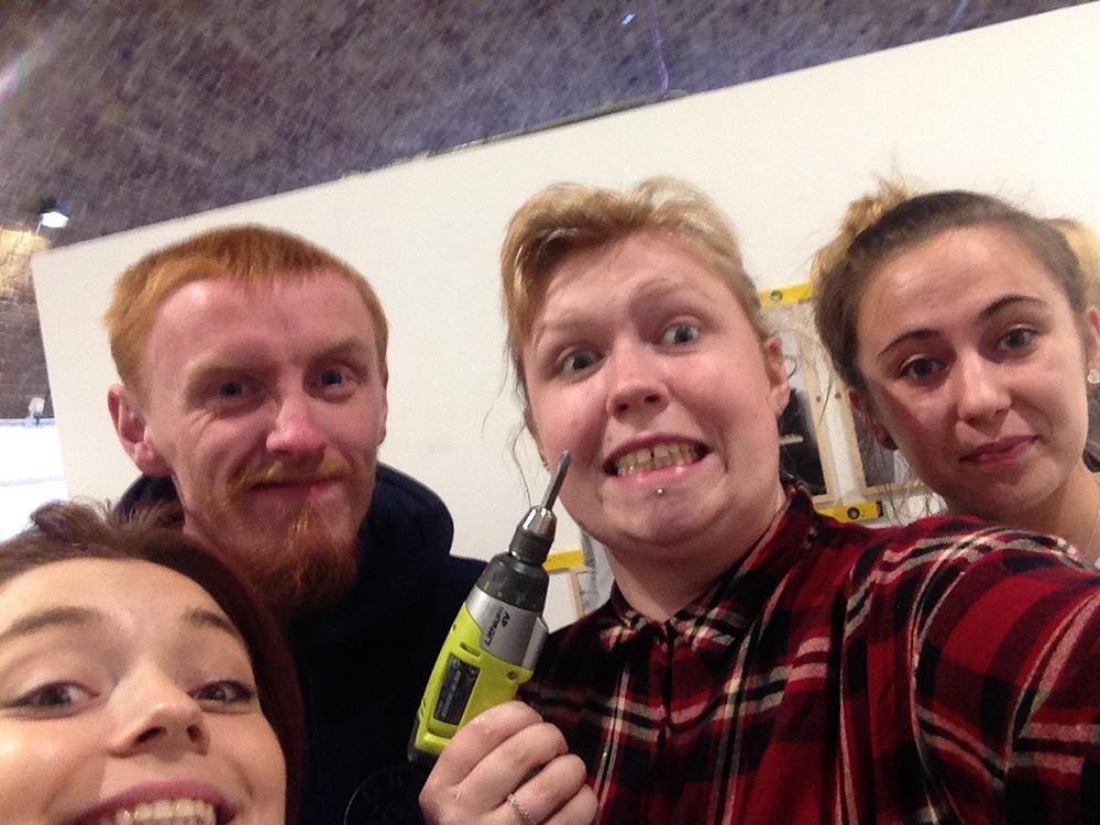 London Dream Team selfie 📸